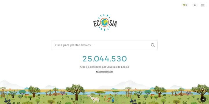 empresas con propósito Ecosia